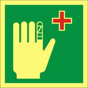 førstehjelpsskilt