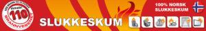 110 slukkeskum banner
