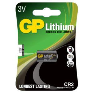CR 2 batteri i salgsforpakning