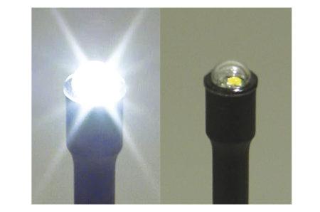 Nødpeilesender med blinkende lys